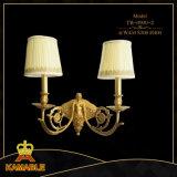 Élégante décoration antique Mur Bougeoir lampe en laiton Cooper (CT-0900-2)