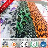 Cuir artificiel en peau de serpent en relief Cuir synthétique pour sacs