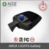 Área de luminarias LED de caja de zapatos con UL&Dlc certificados de prima