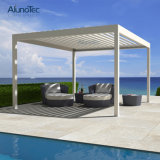 Moderner Garten-Aluminiumpatio-DachPergolaGazebo mit Seitenverkleidung