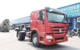 트레일러 맨 위 35ton 트레일러를 운반하는 Sinotruk HOWO 4X2 트랙터 트럭 원동기 트레일러 트럭