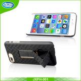 Caixa do telefone móvel com o Kickstand para o iPhone 7 positivo