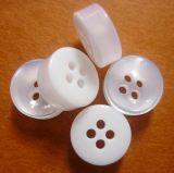 Кнопка полиэфира отверстий одежды 4 высокой ранга фабрики