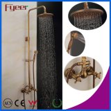 Fyeer Rainfall Antique Brass European Shower Faucet