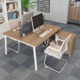 Station de travail Office Desk en bois avec partition écran avant