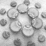 衣服の服装の衣類の袋および靴のための4つの穴の金属ボタン