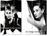Cole o Design de grampo Sala galpão e impressão de Ecrã articulável decorativos em madeira divisor de sala do painel 3X