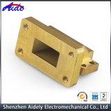 投げられた銅CNCの機械化の部品を垂直にすること