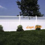 Jardin de vinyle haute piquet de clôture de la vie privée