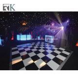 Contre-plaqué blanc et noir Dance Floor pour le mariage d'événement