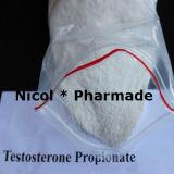 Poudre de Cypionate de testostérone de poudre de propionate de testostérone de poudre d'Enanthate de testostérone