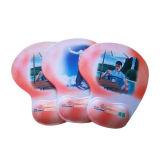 Tapete de mouse de gel de silicone para o resto do pulso com impressão do logotipo