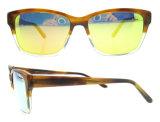 Dos óculos de sol feitos sob encomenda da forma dos óculos de sol de China da alta qualidade óculos de sol italianos do Ce do projeto