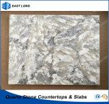 De Stenen van het kwarts voor Bouwmateriaal met SGS & Ce- Certificaat (Marmeren kleuren)