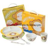"""Dinnerware- van de Melamine van 100% Geplaatste de Gift van het Kind van de Reeks van """"Bigi""""/het Vaatwerk van de Melamine (BGG1)"""
