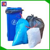 Grand sac d'ordures en plastique lourd de cuisine de cordon