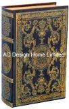 Классический старинной Vintage тиснение (emboss) фиолетового цвета кожи/MDF деревянные окна Адресная книга для хранения