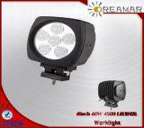 indicatori luminosi automatici del lavoro dell'automobile di 6inch 60W LED per 4X4 fuori strada, E-MARK