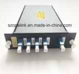Optische Wdm Mux/Demux Lgx CWDM van de Vezel van Telecommuication Passieve