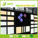 Zhejiang Painel de luz LED plana de fábrica 2X2 2X4 1X4 moldura branca Dimerizável 40W 50W Luz do painel de LED