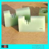 Het epoxy Gelamineerde Blad van de Stof van het Glas (FR4/G10)