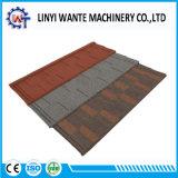 Wante de bardeaux de toiture plate feuille enduite de carreaux en pierre