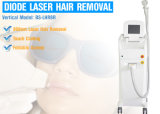 Машина удаления волос лазера диода 808nm оборудования 600W красотки тела портативная