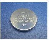 batterie Cr2032 primaire de bouton du lithium 3V