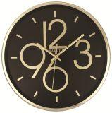 Часы стены домашней конструкции украшения просто круглой дешевые с большим номером