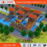Openlucht Bos van de Houten het Beklimmen van de Speelplaats van het Park Reeks Apparatuur (hd-MZ069)