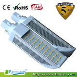 el G-24 del G-24 SMD LED de 11W E27 enciende la luz del tubo del Pl 4pin LED