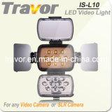 Travor batería profesional de la luz de vídeo (ES-L10)