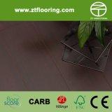 Puesta del sol de bambú lisa y pintada de Strandwoven del suelo