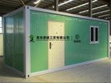 los 40FT prefabricaron el sitio que acampaba de la casa modular del envase