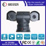 Detección de vehículos a 2,2 km de lente de 50mm PTZ térmica inteligente cámara CCTV