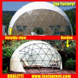 Fabbrica trasparente libera del PVC Cina di bianco geodetica
