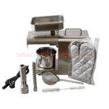 ステンレス鋼の亜麻仁オイル出版物機械