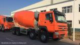 HOWO 1年の売り上げ後のサービスの熱い販売法8X4のセメントのトラック12m3の具体的なミキサーのトラック