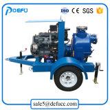 8 Polegadas Motor Diesel de Escorva da Bomba de desidratação de Serviço Pesado