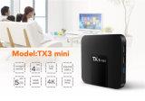 Gelassener BildschirmanzeigeAndroid 7.1 Fernsehapparat-Kasten Tx3 Mini-S905W 2g 16g