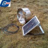 20Вт 12дюйма на крыше солнечной энергии на чердак вентиляционных выбросов парниковых газов