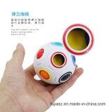 魔法の虹のプラスチックAnti-Stress磁気球の昇進の大人のAnti-Stress球