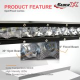30 polegadas retas de fileira única barra de luz LED Spot Feixe Combo de inundação com suportes de montagem do pára-choques para 2009-2014 Ford F150