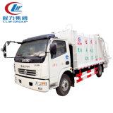 Mini camion del costipatore dell'immondizia di Dongfeng 4X2 5cbm