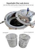 Корпус из нержавеющей стали промышленной очистки воды при двухсторонней печати мешок фильтра