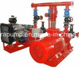 Pompa elettrica diesel della puleggia tenditrice della strumentazione di rifornimento idrico di lotta antincendio
