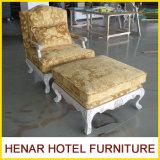 WholesaleのためのRoya Wooden Oakl Chaise Lounge Sofa/Classics Ottoman Chair
