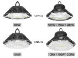 Sensor de movimento 160lm/W 200W depósito LED High Bay UFO Lamp Ugr<19