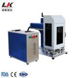 De draagbare Handbediende Mini20W Laser die van de Vezel Machine met Camera CCD merken