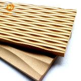Material MDF MDF panel acústico los paneles de pared 3D